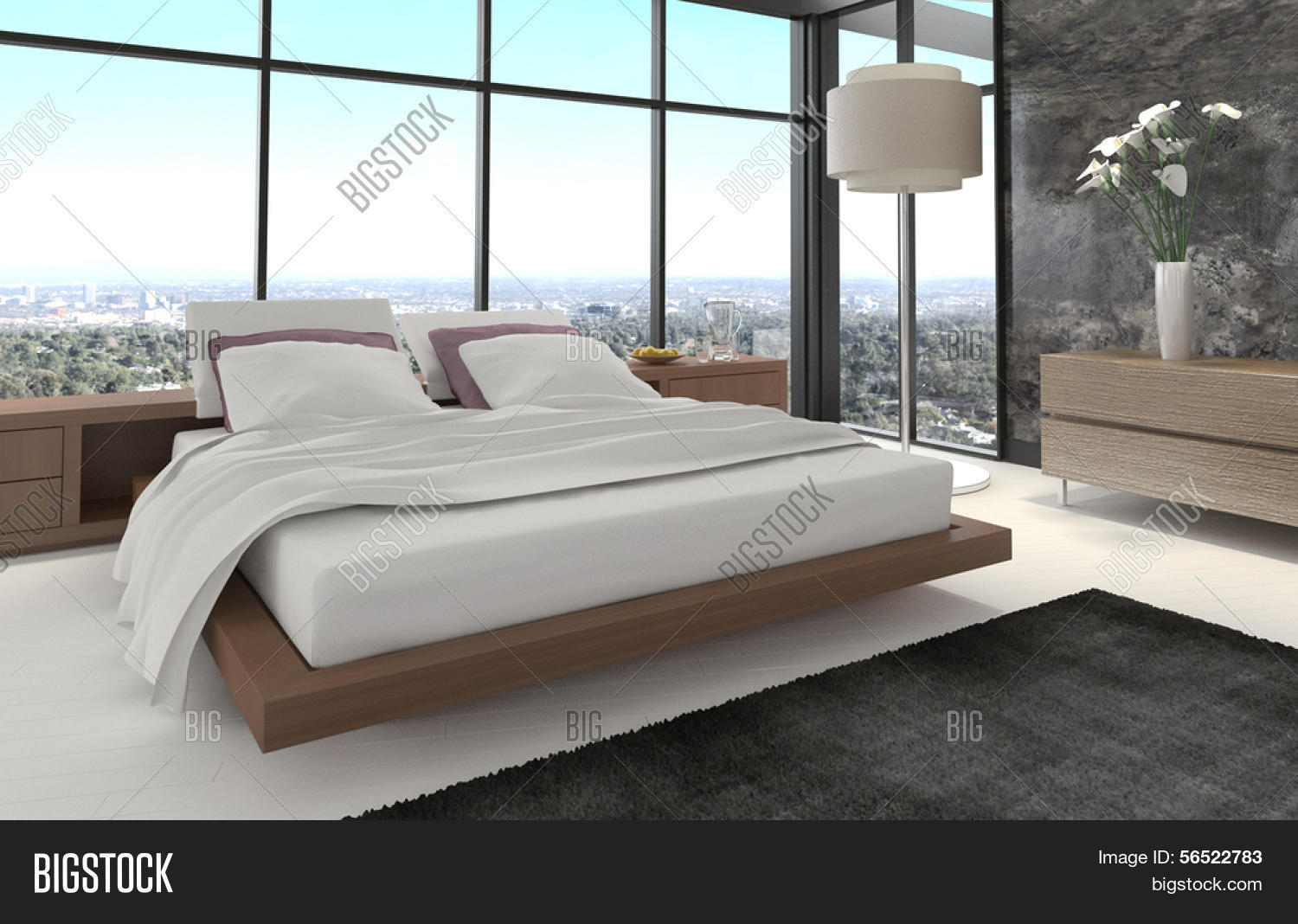 Chambre a coucher moderne for Chambre coucher moderne