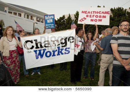 Alhambra Town Hall On Healthcare Reform
