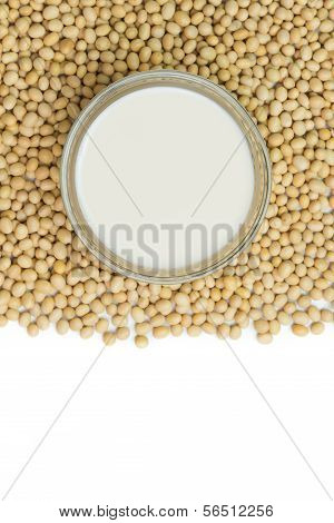 Soymilk And Soy Beans