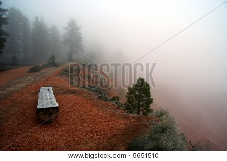 Bryce Canyon Fog