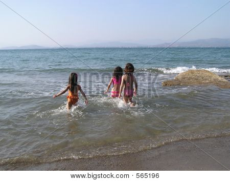 Girls On The Beach
