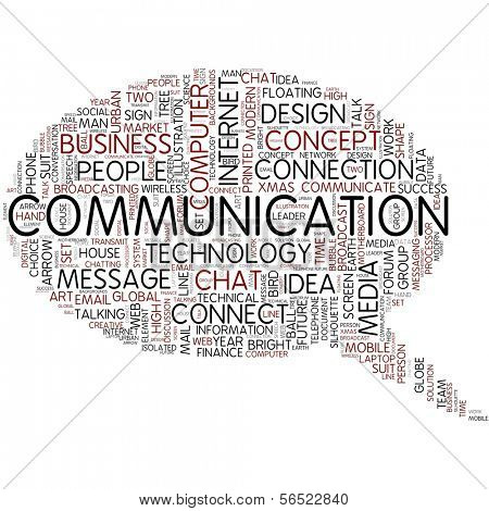 COMMUNICATION | Word Art