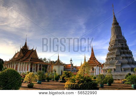 Königspalast, Phnom Penh, Kambodscha