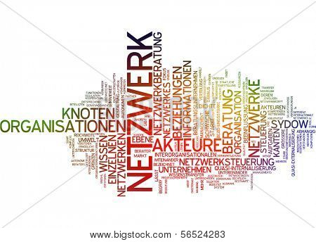 Word cloud -  network