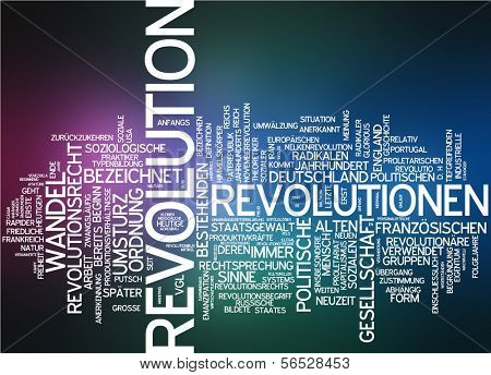 Word cloud -  revolution