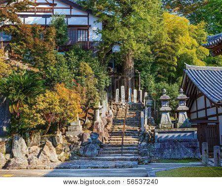 Nigatsu-do Hall in Nara