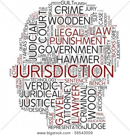 Info-text graphic - jurisdiction