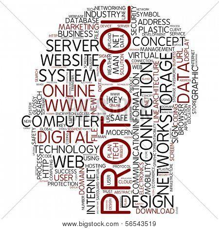 Info-text graphic - protocol
