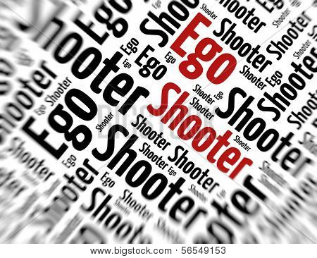 Tagcloud - Ego shooter