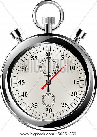 Vector stop watch eps8