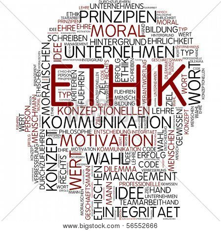 Info-text graphic - ethics