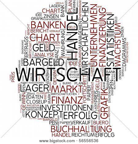Info-text graphic - economy