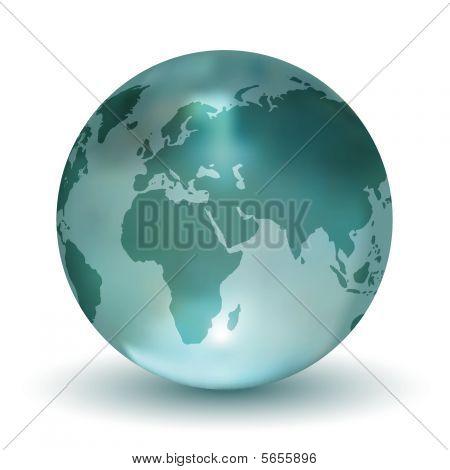 3D Crystal Earth