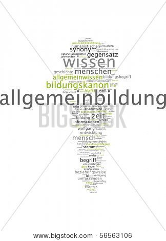 Word cloud - general knowledge