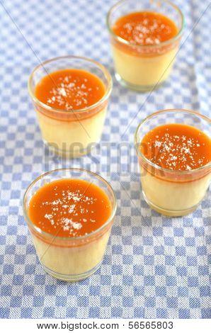 Caramel Pudding with fleur de sel