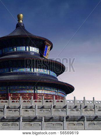Temple of Heaven (Tian'tan) in Beijing (China)