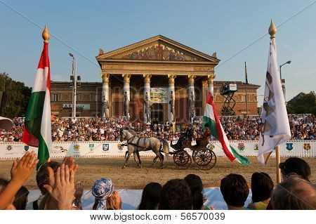 Hungarian National Gallop 2011