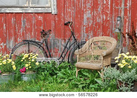 Bike And Chair