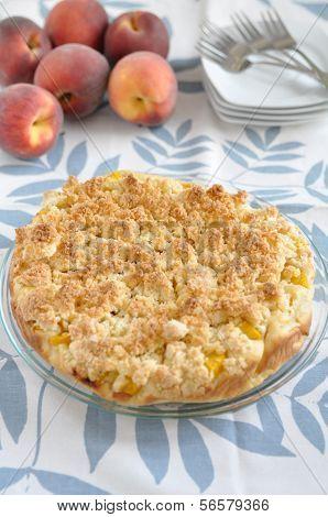 German Peach Pie