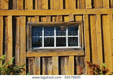 Wooden Shed Window