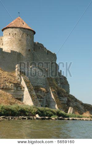 Old Fortress On The River Bank In Belgorod-dnestrovsky,ukraine