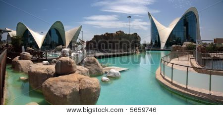 Oceanographic Of Valencia In Spain