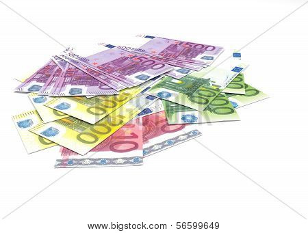 Euro Banknotes - Legal Tender Of The European Union