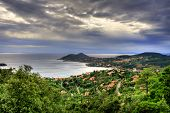 View of the C�?�´te d'Azur coastline near Agay in France