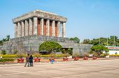 stock photo of mausoleum  - Mausoleum Leader of Vietnam  - JPG