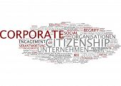 stock photo of citizenship  - Word cloud  - JPG