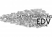 Word cloud - electronic data processing