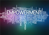 Word cloud - empowerment