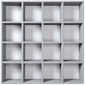 Grey Wooden Shelves