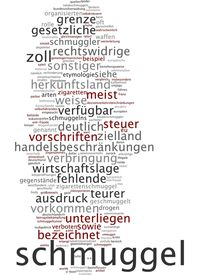 pic of smuggling  - Word cloud  - JPG