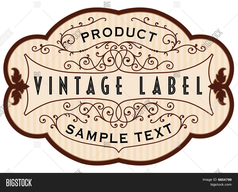 Vintage Lable 19