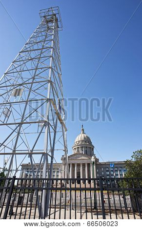 Oklahoma Capital Building.
