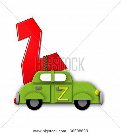 Alphabet On The Go Z