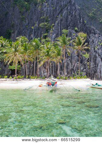 Landscape of El Nido  Palawan island  Philippines
