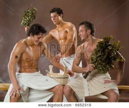 Men After The Bath