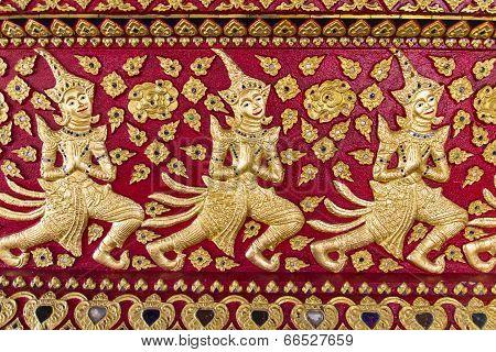 Asian Angel Sculpture
