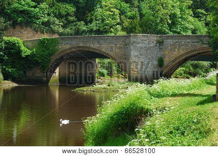 Bridge At Warkworth