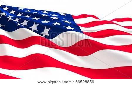 old glory flag american background