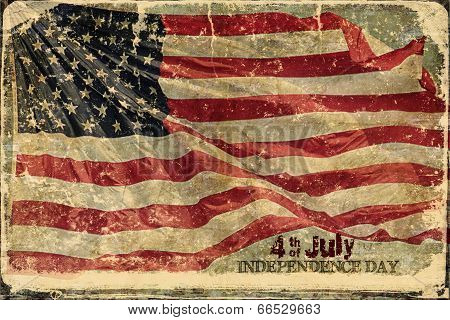 4th of July  American Flag