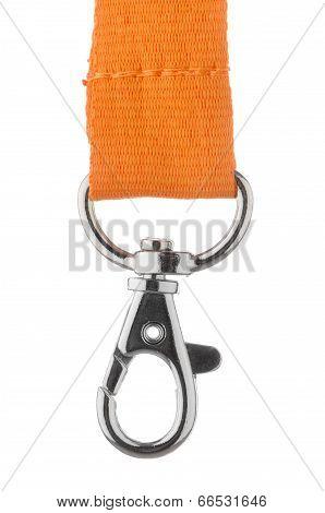 Orange Lanyard Cord