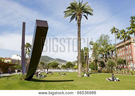Arc De Venet In In Albert 1Er Gardens In Nice