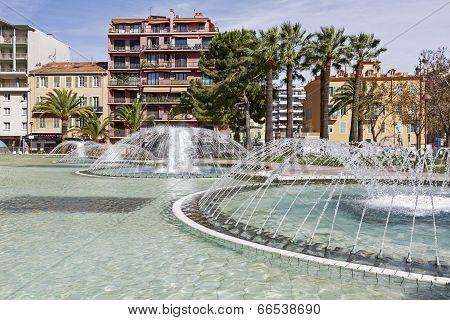 Fountain At L'esplanade Francis Giordan