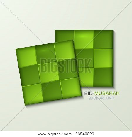 Vector ketupat element design