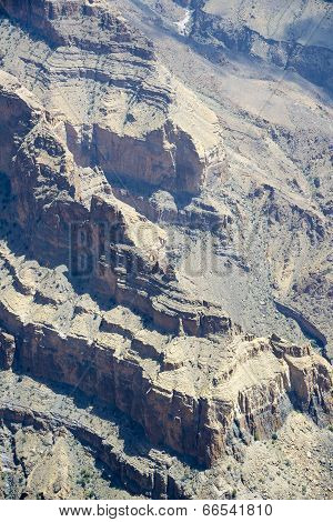 Rock Walls Jebel Shams