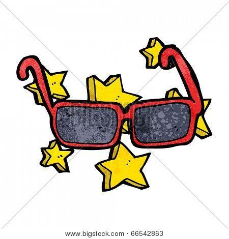 cartoon expensive sunglasses