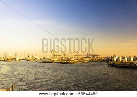 Container Terminal And Shipyard